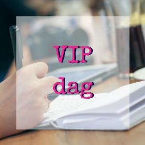 VIP dag met Zichtbaar Jij